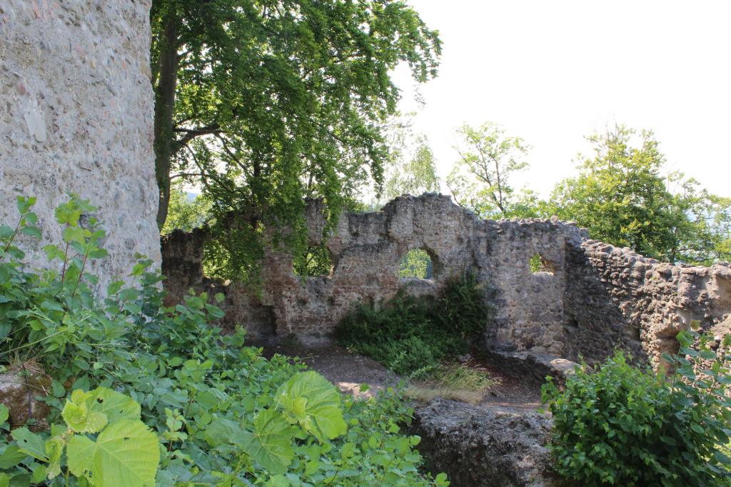 Burgruine Altbodman - Innenhof
